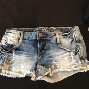 Vanilla Star Jean Shorts Size 0 (XS)